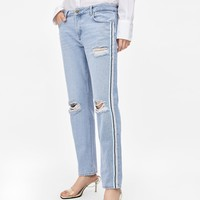 Z1975 JEANS WITH SIDE STRIPESDETAILS