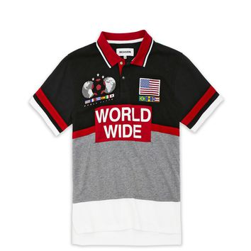 WORLD WIDE POLO - BLACK