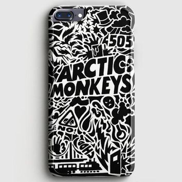 Arctic Monkeys Band Logo And Photo iPhone 8 Plus Case | casescraft