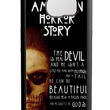 American Horror Story Quotes Samsung Galaxy S6 Case Black