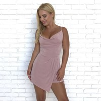In The Moment Romper in Pink
