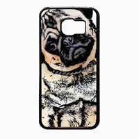pugs alot dog f04fa6a6-c637-4332-9c54-cabfedafc09f FOR Samsung Galaxy S6 REGULAR CASE *02*