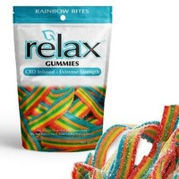 Relax Gummies CBD Infused Rainbow Bites