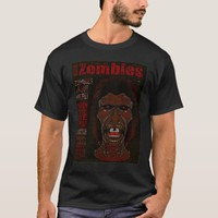 ZOMBIES Undead - The Magazine 2 Dark Red T-Shirt
