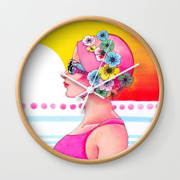 Synchronized Wall Clock by Christina Siravo