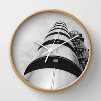 Lloyds building Wall Clock by Architect´s Eye | Society6