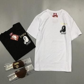 'BAPE' Short Sleeve T-shirts [10425655111]