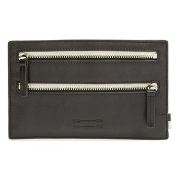 Men's Ben Minkoff Double Zip Travel Pouch - Black