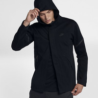 The Nike Sportswear Tech Fleece Repel Windrunner Men's Jacket.