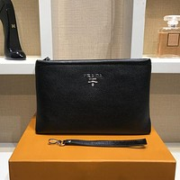Prada Women Shopping Leather Wallet Purse Handbag Tote