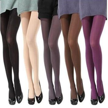 Fashion spring autumn winter women sexy tights stockings Pantyhose Female women's Girl warm tights seamless pantyhose Clothes