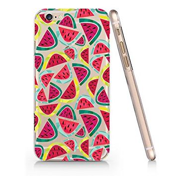 Watermelon Pattern Slim Iphone 6 6s Case, Clear Iphone Hard Cover Case For Apple Iphone 6 6s Emerishop (NLA063.6sl)