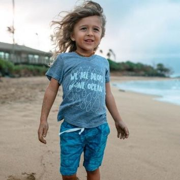 Limited Edition Drops Of One Ocean Kid's Tee or Tank