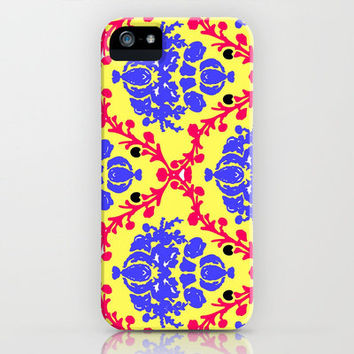 Vintage Wallpaper #1 iPhone Case by lush tart | Society6