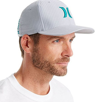 Hurley Advance Nike Dri-Fit Twill Stretch Hat (MHA5730) L/XL/Cool Grey