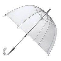 Rainkist Bubble Umbrella - Clear Dome Shaped Rain Umbrella, 20020-133,One Size,Clear,One Size,Clear,One Size,Clear