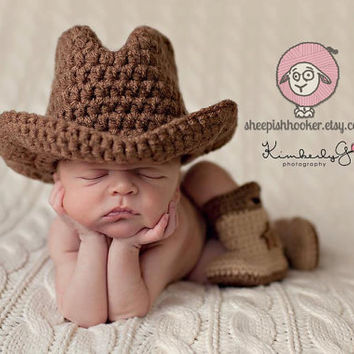 HAT ONLY Baby Cowboy or Cowgirl