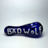"Glass Pipe ""Bad Wolf"""