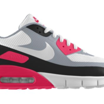 Nike Air Max 90 HYP Premium iD Custom Girls' Shoes 3.5y-6y - Pink