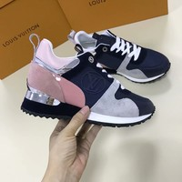 LV Louis Vuitton Women Trending Casual Sneaker Shoes AAA Best Quality