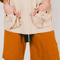 Lova Layered Short | Camel