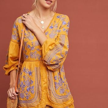 Lisette Embroidered Tunic Dress