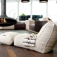 Chaise Lounger Bean Bags