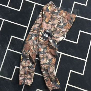 TNF✖️Supreme Men Fashion Camouflage Sport Stretch Pants Trousers Sweatpants G