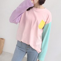 Pastels Long Sleeve Tee