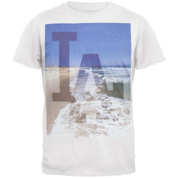 Los Angeles Dodgers - Sinatra City Scene Soft T-Shirt