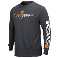 Cleveland Browns Dual Threat IV LS Tee - Men