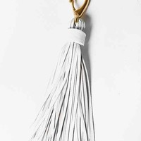 Matthew Addonizio Leather Tassel Keychain-