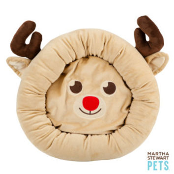 Martha Stewart Pets® Reindeer Dog Bed
