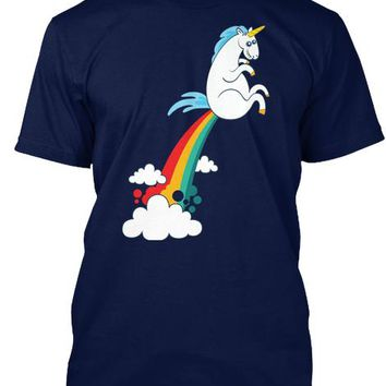 Unicorn Fart Rainbow Funny