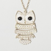 Owl I Want Necklace | Claire's