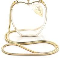 Clear Lucite Adam Apple Bag | Lena Erziak | Avenue32