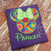 Custom embroidered Disney Inspired Vacation Shirts for the Family!