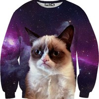 Galaxy Cat Sweater