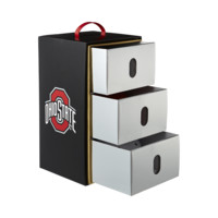 Nike Championship (Ohio State) Headwear Box Set (Red)