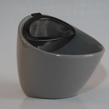 Stoneware Double Wall Tea Cup