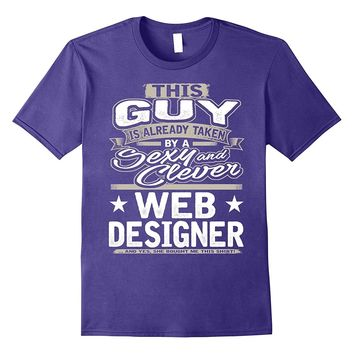Web Designer Shirt Gift For Boyfriend Husband Fiance 1