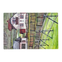 Transylvania, Romania, Picturesque Painted Scenery Placemat