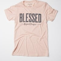 Blessed Beyond Measure - (peach)