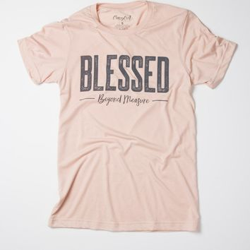 Blessed Beyond Measure - tee