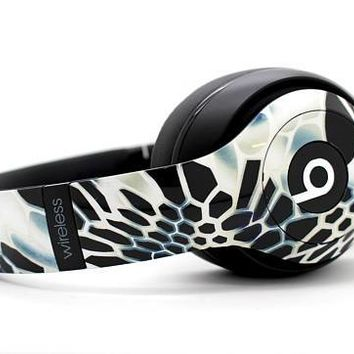 Custom Serpent Beats By Dre Headphones - Bluetooth Studio Headset - Customizable Beats Gift for him - Studio 1.0 Studio 2.0