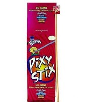 Pixy Stix Giant 50 Sticks, 22 inch