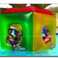 The Cube Floating Habitat Water Float Toy for Swimming Pool & Beach