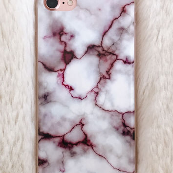 Broken Heart Marble iPhone 7/7+ Case