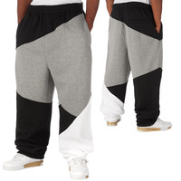 Urban Classics Zig Zag Sweat Pants Black/Grey/White von Def-Shop.com