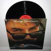 Vinyl Record Album Risky Business Original Soundtrack LP 1984 Teen Classic Tangerine Dream Prince